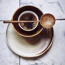 styling of table with kyoto ceramics