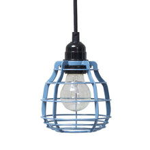 Pendant light - industrial blue