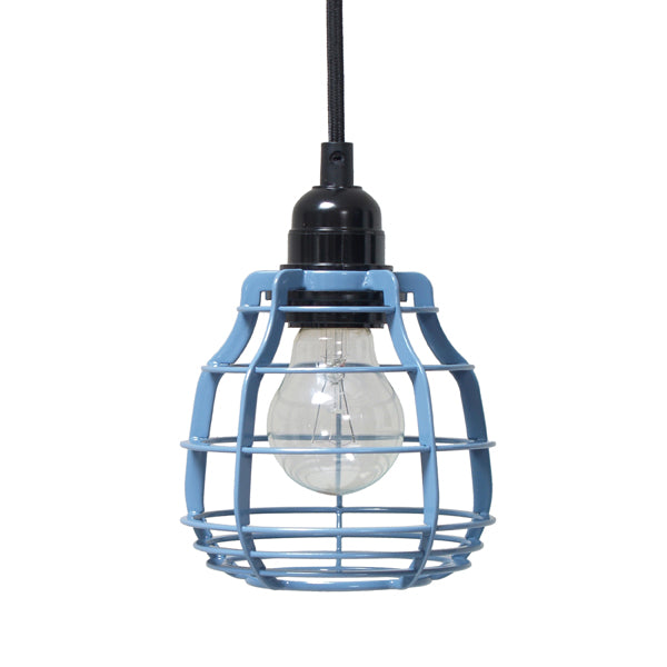 Single pendant light - blue