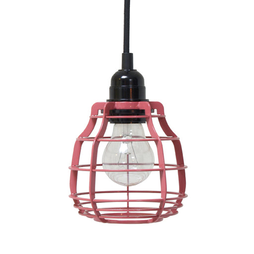 industrial lab lamp inspired color marsala with pendle