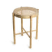 retro cane webbing stool natural