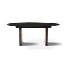 modern coffee table black wood and cane webbing legs