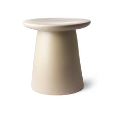 earthenware side table