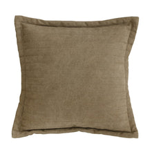 TKU2020 hk living usa quilted brown throw pillow