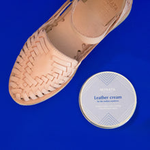 Minata Leather Cream