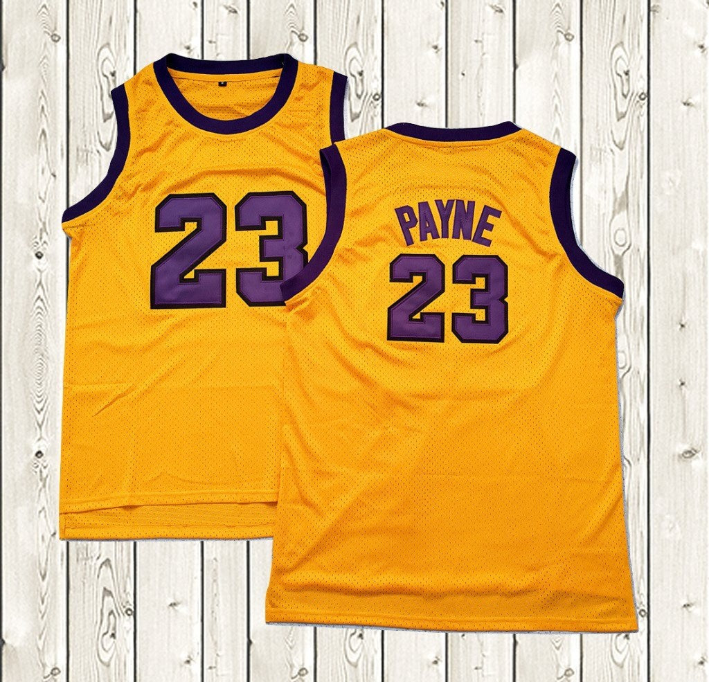 38c96a3d546 VTURE TV Show  23 Basketball Jersey Martin Lawrence Martin Payne Yellow