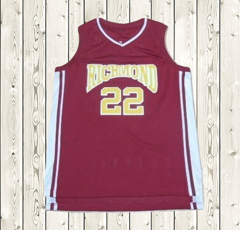 ed8b193ae9e1  22 Richmond CRUZ Movie Basketball Jersey Red ...