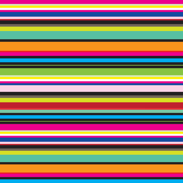 Colorful Stripe Tissue Paper