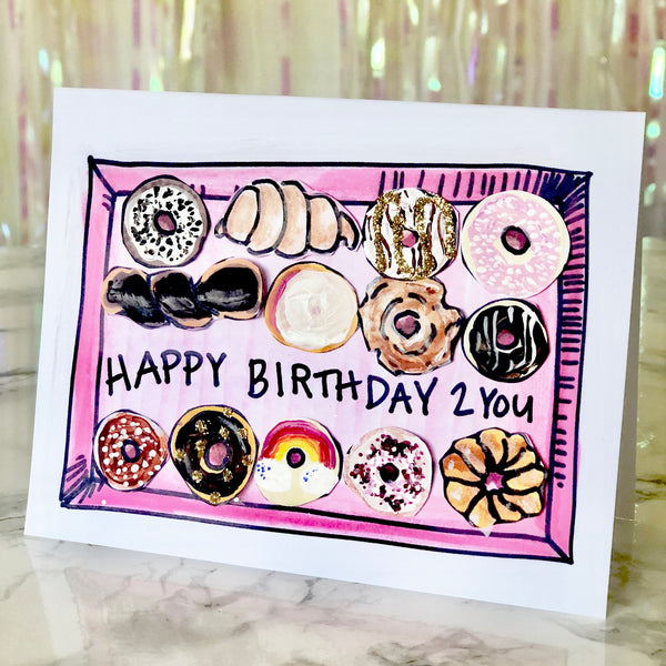 Card Kit - The Donut You Know Design