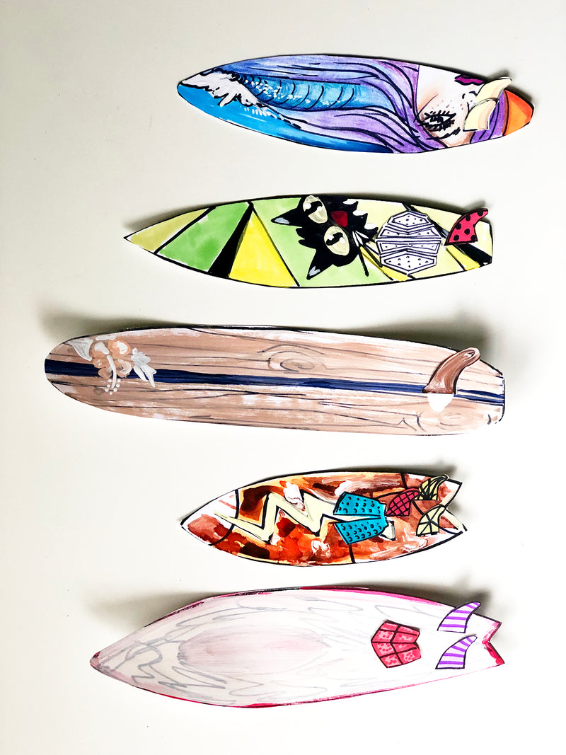 Curbside Creative Kit - Design Your Own Surfboard