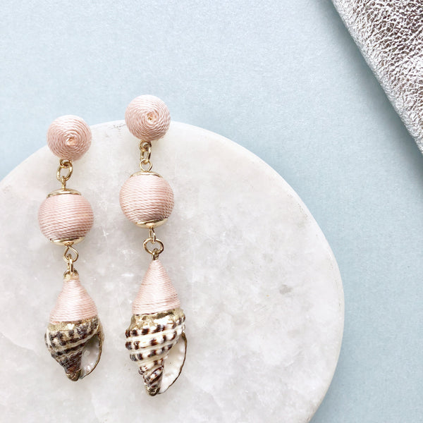 Bauble Shell Earrings