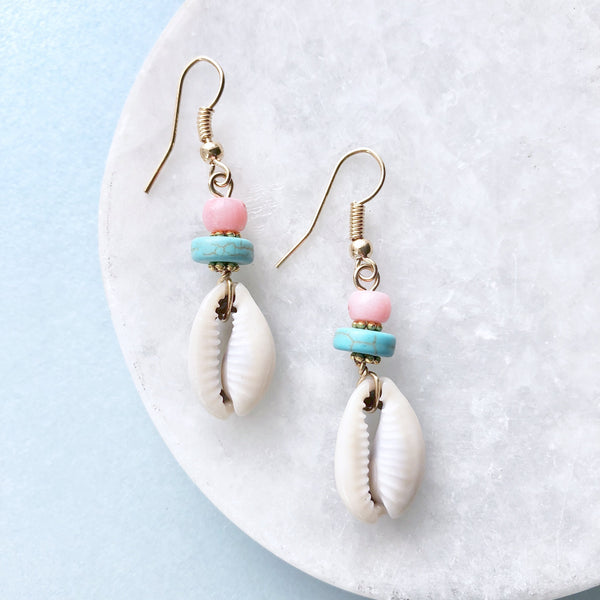 Delicate Shell Earrings