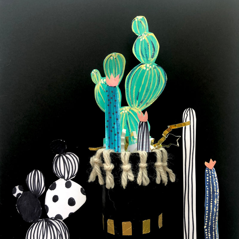 Curbside Creative Kit - Paper Cactus