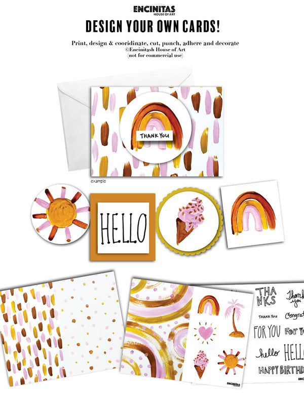 Card Kit - The Milleni Design