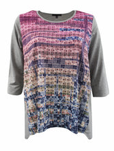 Gradient Rainbow Sweater-Like Top
