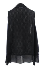 Sleeveless Lace Cardigan