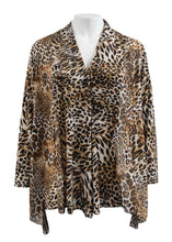 Long Sleeve Leopard Print Cardigan