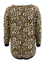Leopard Print Long Sleeve Tee