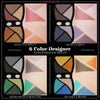 6 COLOR DESIGNER EYESHADOW-SATIN