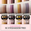 KC EYESHADOW TRIO-MATTE