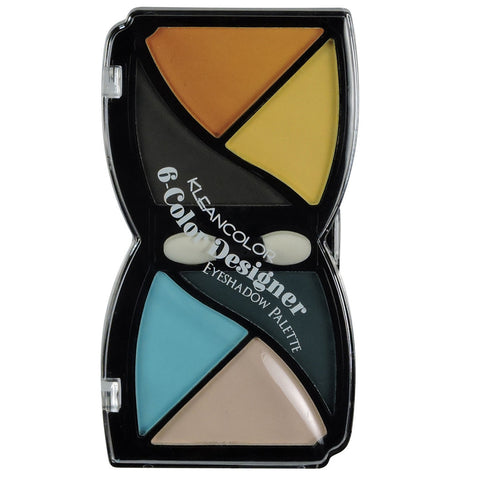 6 COLOR DESIGNER EYESHADOW-MATTE