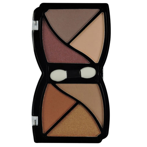 6 COLOR DESIGNER EYESHADOW-SATIN - KleanColor