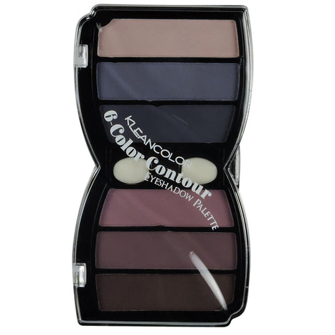 6 COLOR CONTOUR EYESHADOW-MATTE
