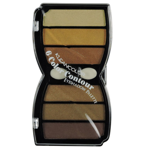 6 COLOR CONTOUR EYESHADOW-SATIN - KleanColor