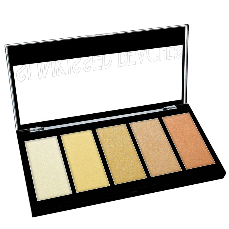 5 COLOR PRISMATIC HIGHLIGHTER PALETTE - KleanColor
