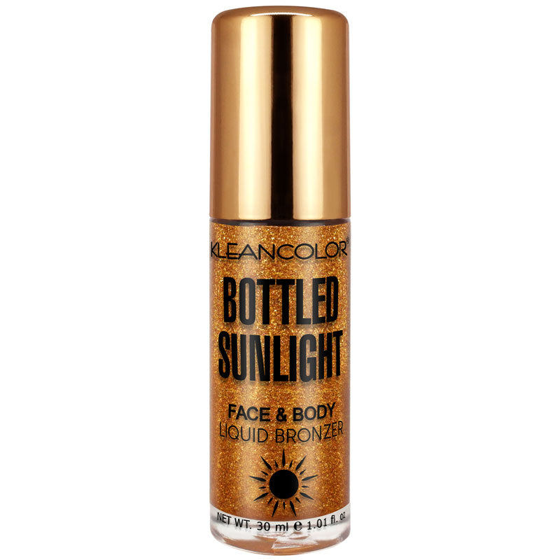 BOTTLED SUNLIGHT-FACE & BODY LIQUID BRONZER - KleanColor