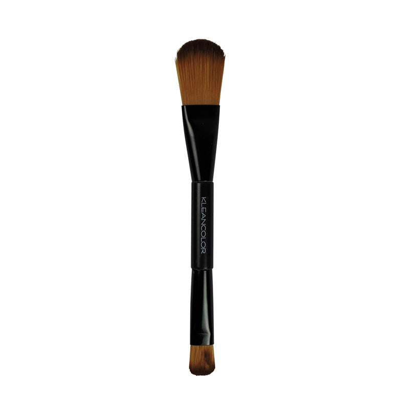 DUEL-ENDED COMPLEXION BRUSH - KleanColor