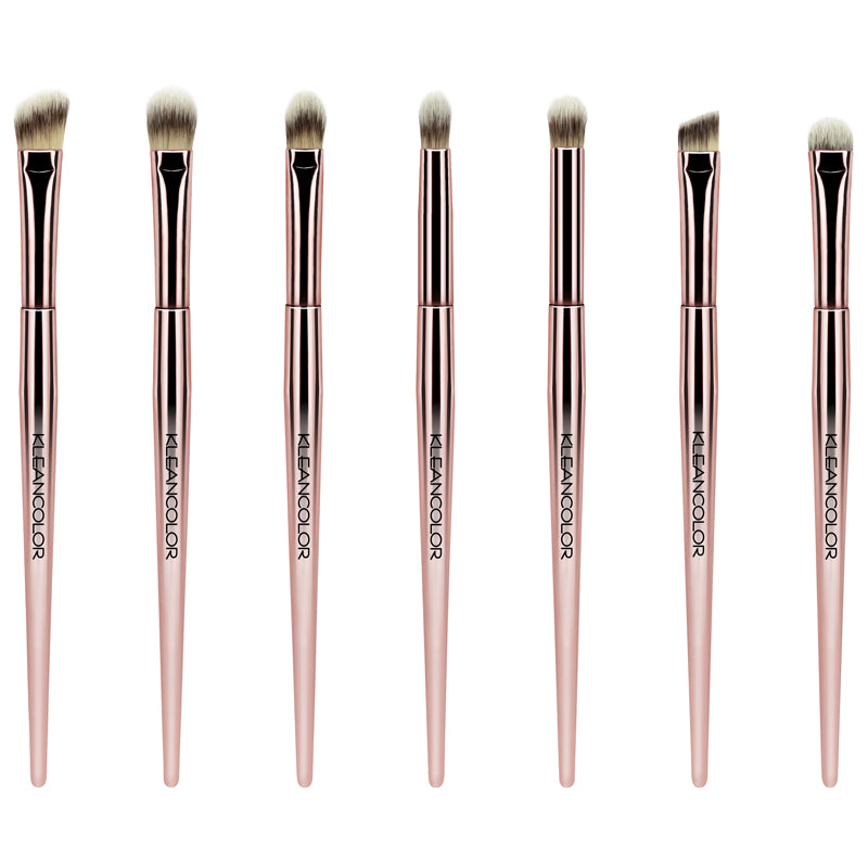 STOP & SMELL THE ROSES-7 PIECE EYE BRUSH SET - KleanColor