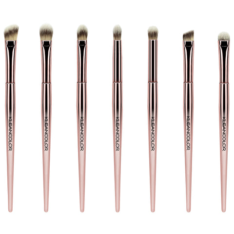 STOP & SMELL THE ROSES-7 PIECE EYE BRUSH SET
