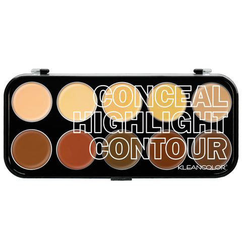 CONCEAL, HIGHLIGHT, CONTOUR KIT - KleanColor