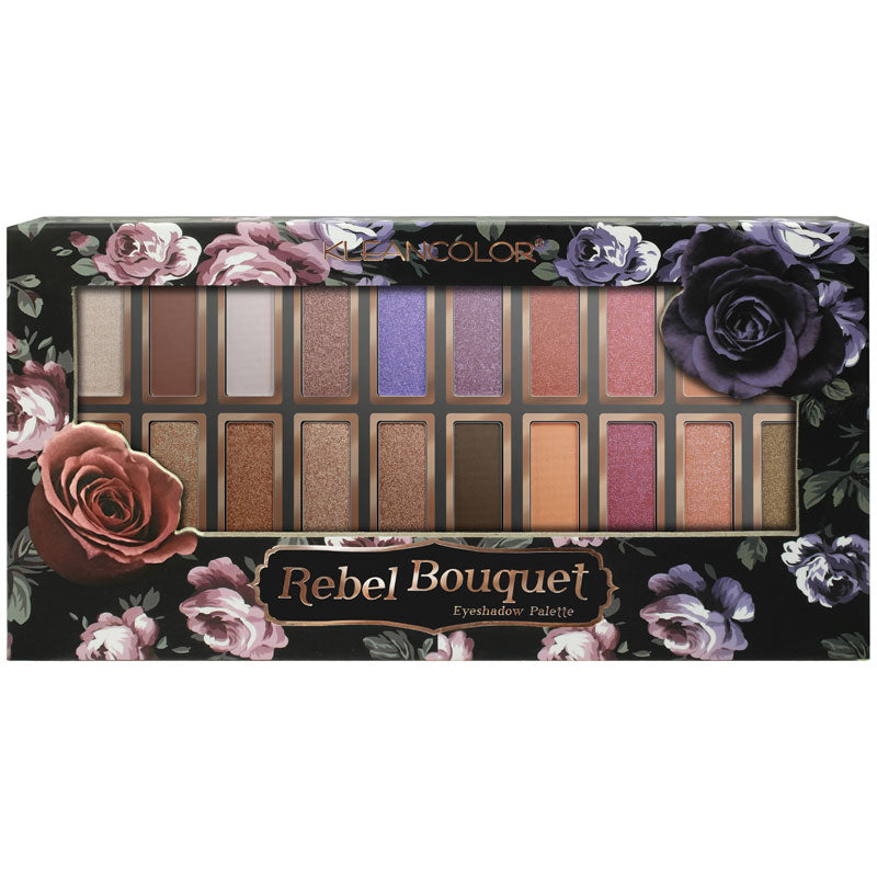 REBEL BOUQUET EYESHADOW PALETTE - KleanColor