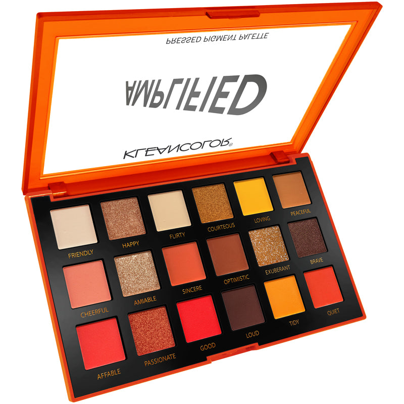 AMPLIFIED-PRESSED PIGMENT PALETTE - KleanColor