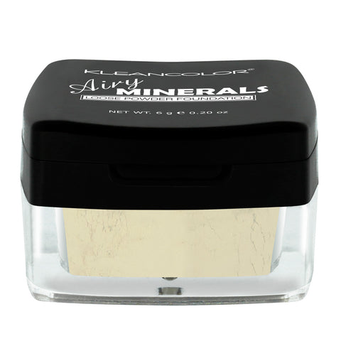 AIRY MINERALS MATTE FINISHING POWDER - KleanColor