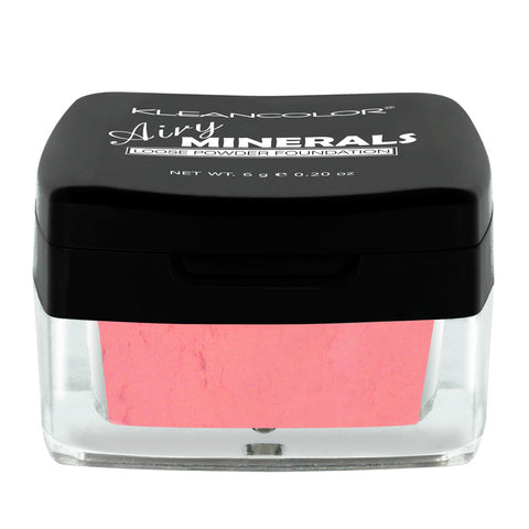 AIRY MINERALS LOOSE POWDER BLUSH - KleanColor