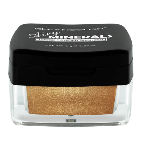 AIRY MINERALS LOOSE POWDER BRONZER - KleanColor
