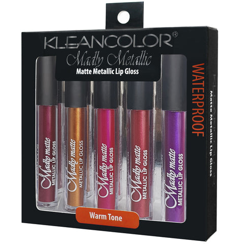 5PC MADLY MATTE LIP GLOSS SET - KleanColor