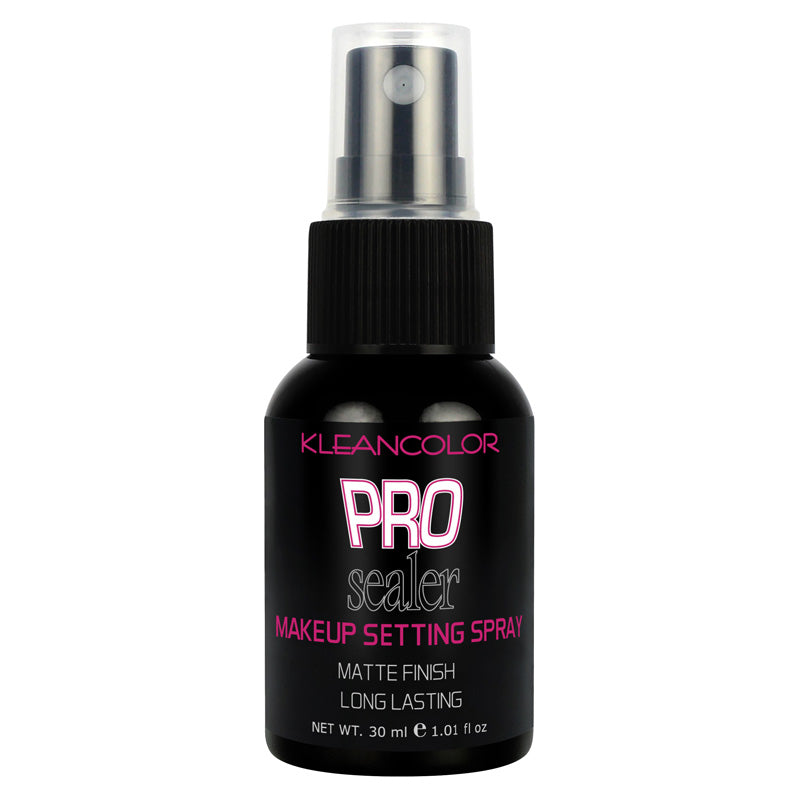 PRO SEALER MAKEUP SETTING SPRAY-MATTE FINISH - KleanColor