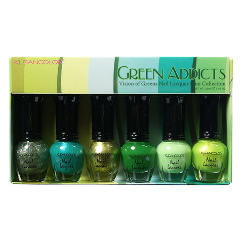 GREEN ADDICTS-MINI COLLECTION - KleanColor