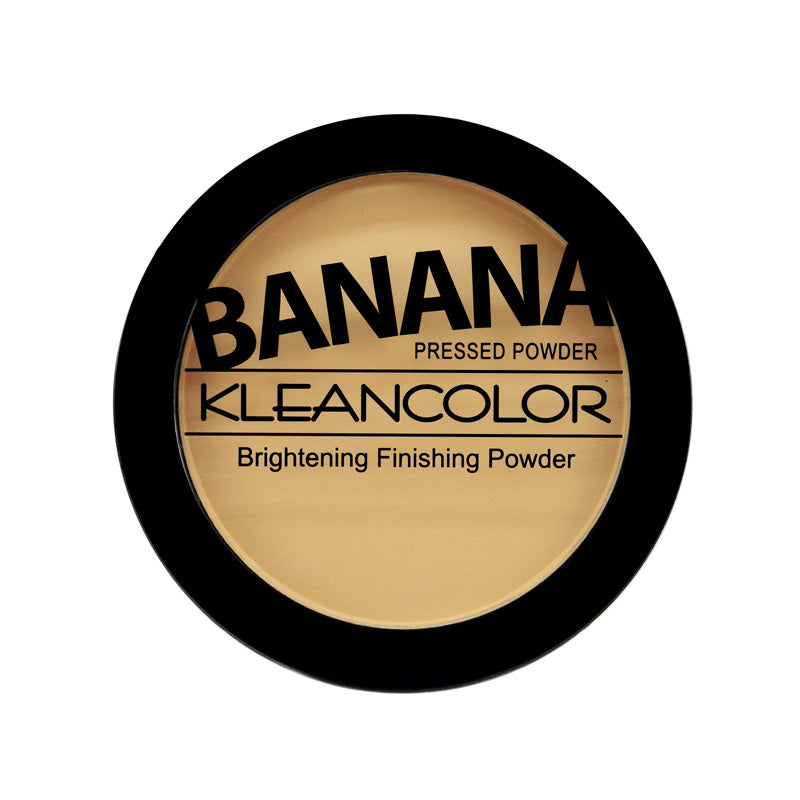 BANANA PRESSED POWDER-BRIGHTENING FINISHING POWDER - KleanColor