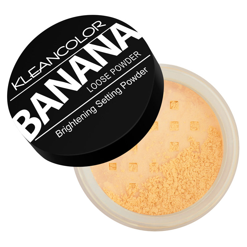 BANANA POWDER-BRIGHTENING SETTING LOOSE POWDER - KleanColor