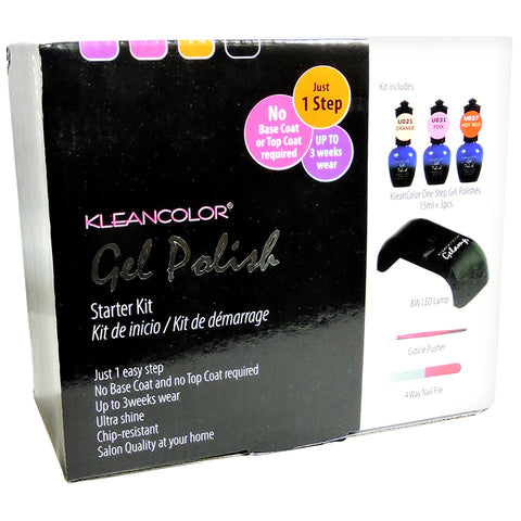 GEL POLISH STARTER KIT - KleanColor