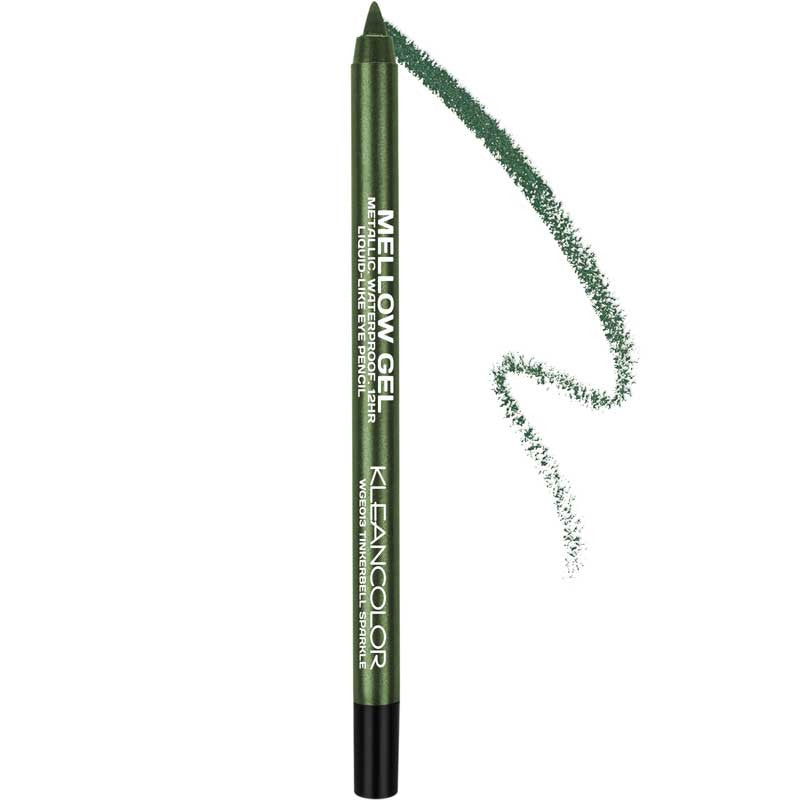 MELLOW GEL EYE PENCIL-METALLIC - KleanColor