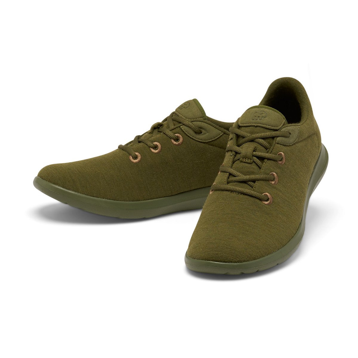 Men's Lace-Ups Olive Green