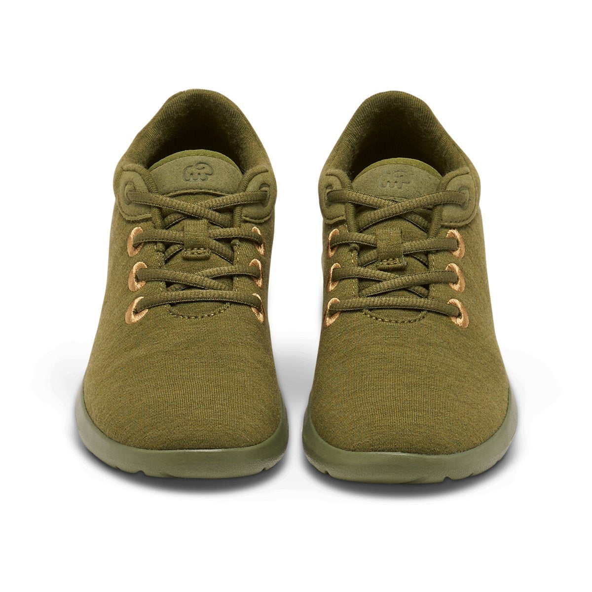 Women's Lace-Ups Olive Green
