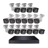 Halifax 16 Channel 4K UHD IP NVR Security System with (16) Cavalier 5MP IP Bullet Cameras, 2 TB Hard Drive