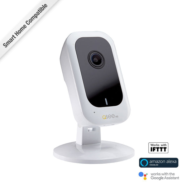 3MP Wi-Fi Cube Security Camera with 16GB Micro SD Card (QCW3MP16)